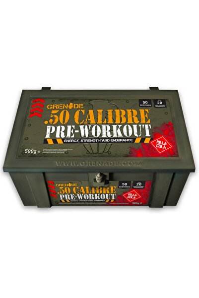 Grenade 50 Calıbre Pre-workout 50 Servis Kılla Kola Aromalı