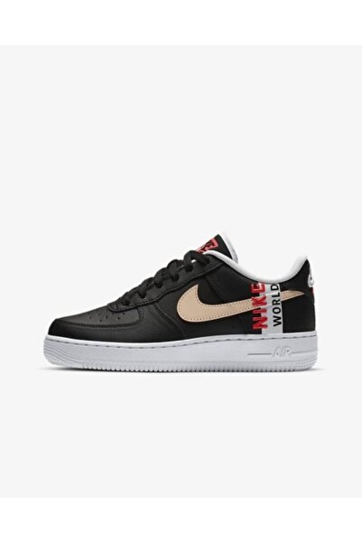 Nike Kadın Siyah Ayakkabı Aır Force 1 Lv8 1  gs  Cn8536-001