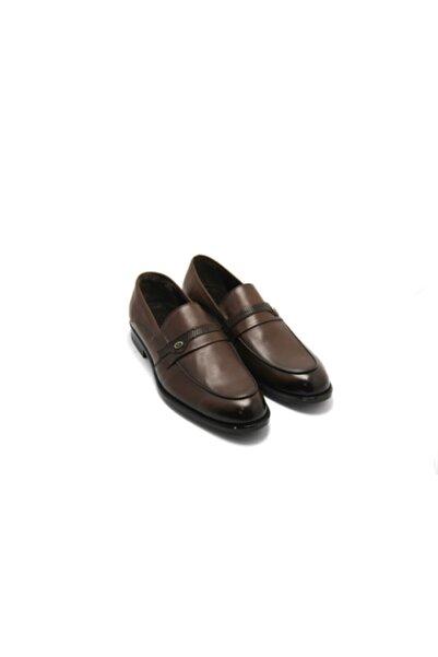 PUNTO Erkek Kahve Antik Klasik Ayakkabı
