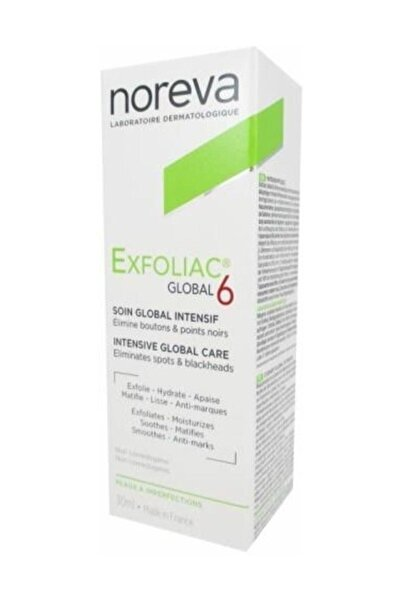 Noreva Exfoliac Global 6 Imperfections Care 30 Ml