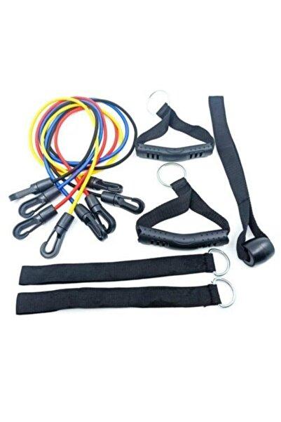 AVESSA Power Band Set Direnç Lastiği Seti Kas Geliştirici Pilates Ipi