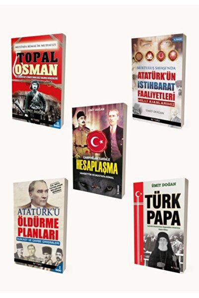 Kripto Basım Yayın Ümit Doğan Kitap Seti/5 Kitap/topal Osman, Hesaplaşma, T. Papa, Atatürk'ün Istihbarat F., Öldürme P.