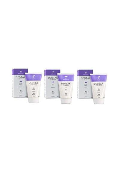 Deotak 3 Adet Krem Deodorant Soft 35 Ml