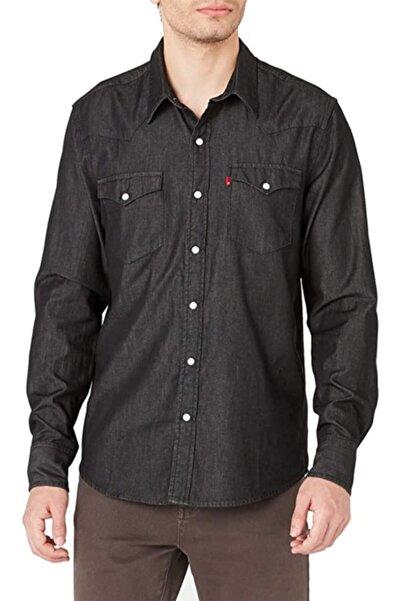 Levi's Erkek Siyah Classic Western Soft Günlük Gömlek - 66986-0109