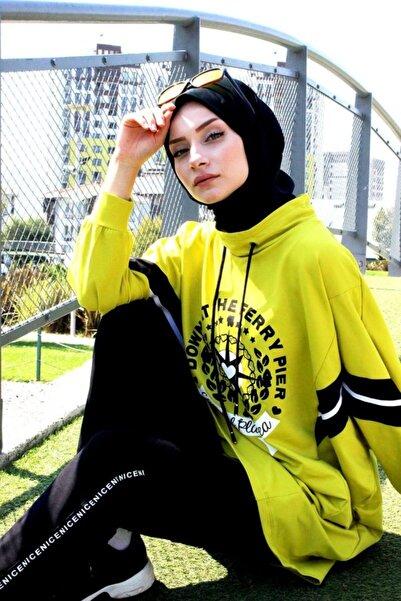 Marina Kadın Yeşil Eşofman Takımı E2001