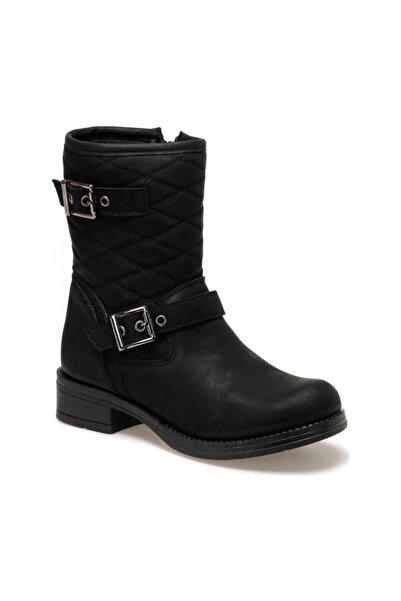 Kinetix Kadın Siyah  Çizme