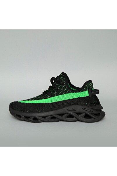 BREEZY Erkek Siyah Örgü Ayakkabı 20510022