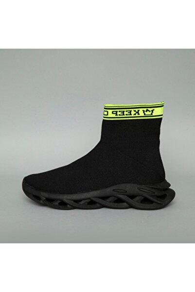 BREEZY Erkek Siyah Örgü Ayakkabı 20510024