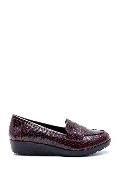 Derimod Kadın Bordo Desenli Ayakkabı