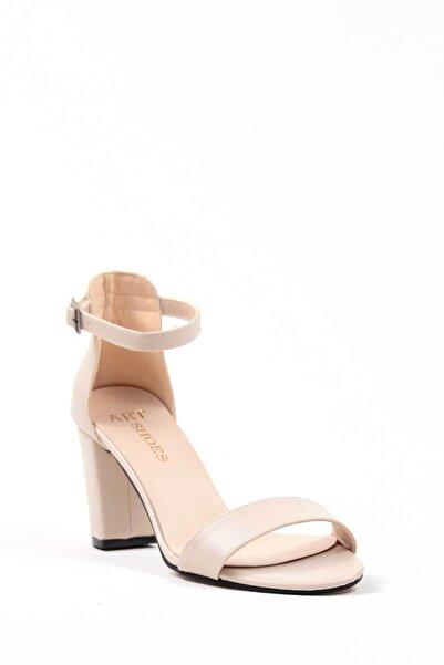 Oioi Kadın Krem Topuklu Ayakkabı