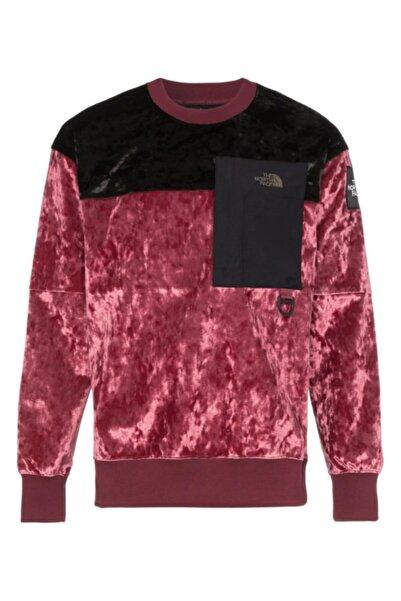 THE NORTH FACE Erkek Kırmızı Black Serisi M Cty Kadife Sweatshirt