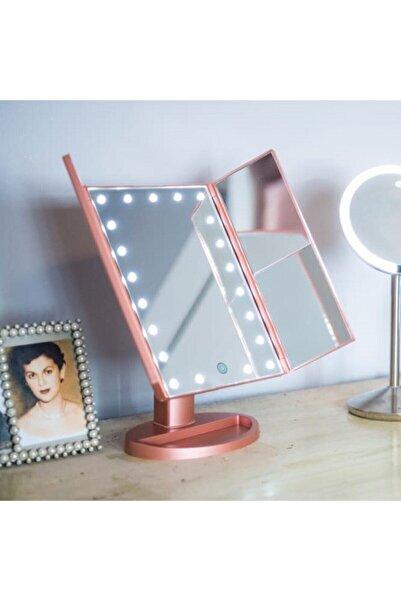 Tina 2 Kapılı 22 Led Işıklı Youtuber Makeup Makyaj Aynası