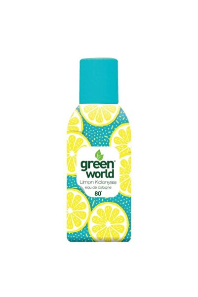Green World Limon Kolonyası Sprey 80 Derece 150 Ml