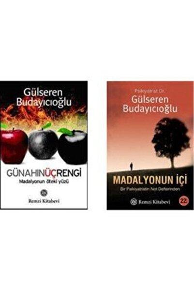 Remzi Kitabevi Gülseren Budayıcıoğlu 2 Kitap Set Günahın Üç Rengi - Madalyonun Içi