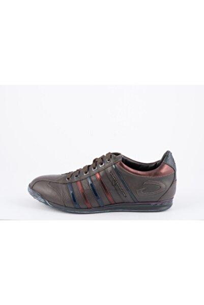 ALBERTO GUARDIANI Erkek Kahverengi Bağcıklı Sneaker