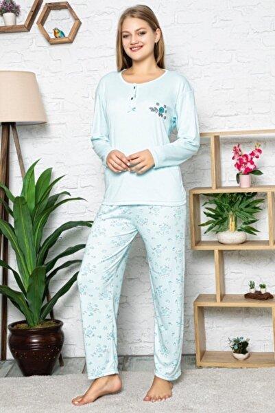 Işılay Çiçekli Bayan Pijama Takımı 4294