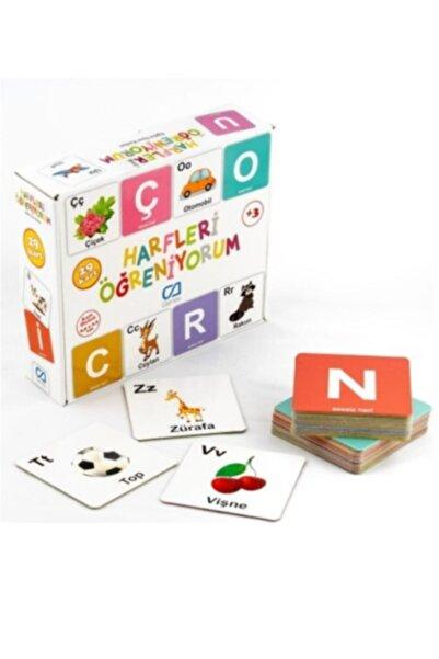 Ca Games Yayınları Harfleri Öğreniyorum Eğitici Oyun Kartları 29 Adet