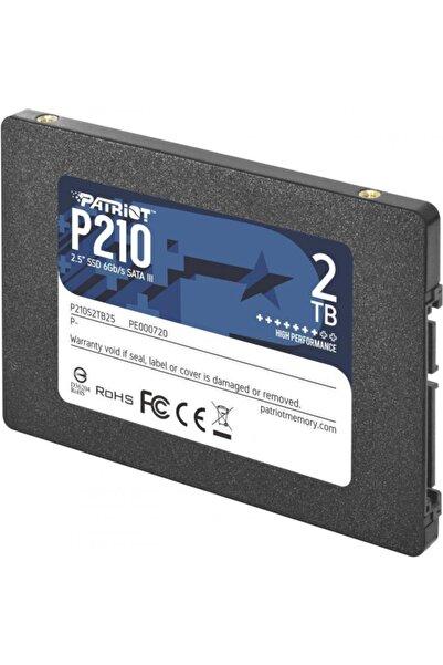 """Patriot P210s2tb25 2tb P210 Sata 3.0 520-430mb/s 7mm 2.5"""" Flash Ssd"""