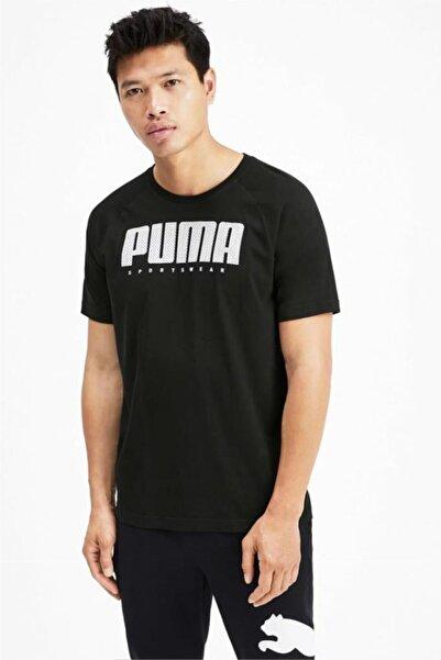 Puma Erkek Siyah Tişört - 58013401