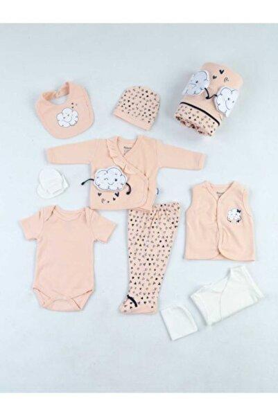 Miniworld Kız Bebek Pembe 10 Parça Hastane Çıkış Seti 15077