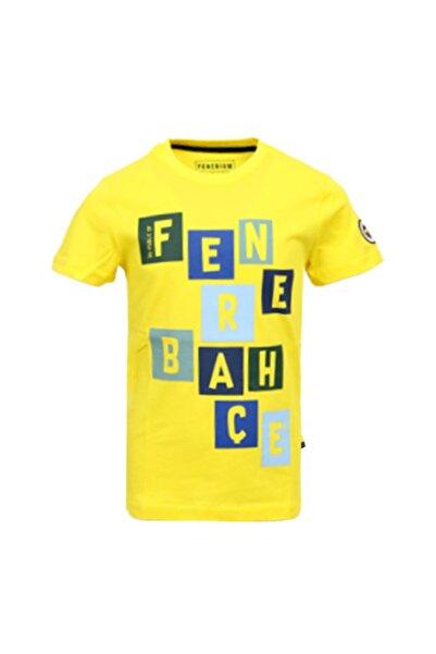 Fenerium Unisex Çocuk Sarı Fenerbahçe T-shirt