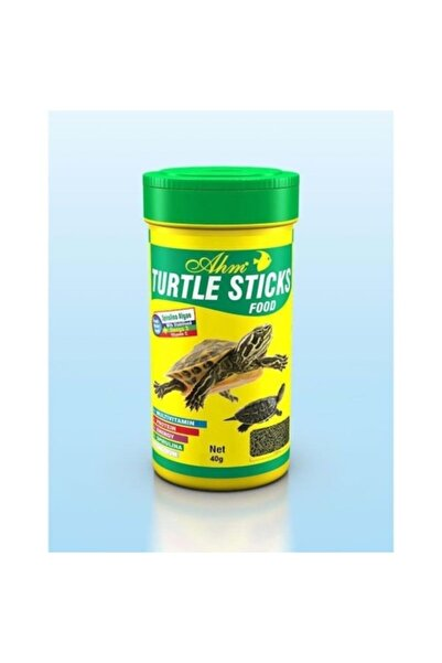 Ahm Turtle Stick Green Food 3 Adet