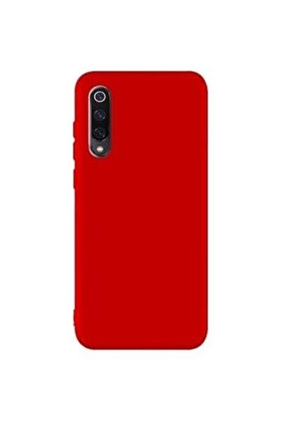 Xiaomi Mi 9 - Mi 9 Lite Yumuşak Silikon Kılıf Kırmızı