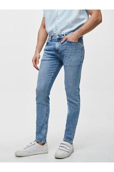 Ltb Erkek Mavi  Smarty Sadly Wash Low Rise Super Skinny Kot Pantolon