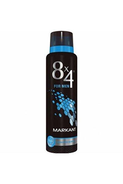 8x4 Markant 150ml Unisex Deodorant