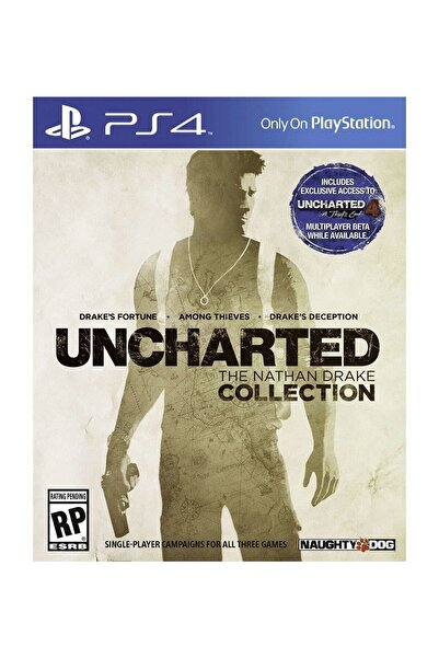 Naughty Dog Uncharted : The Nathan Drake Collection  - Türkçe Dublaj Ps4 Oyun