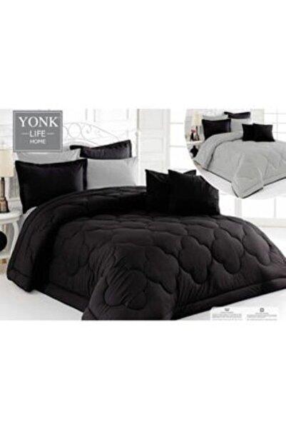 Zarif Home Yonk Life Tek Kişilik Uyku Seti (siyah/gri) 5 Parça