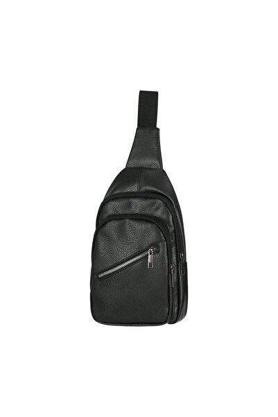 Roxy Unisex Siyah Çapraz Omuz Çantası Uf0006