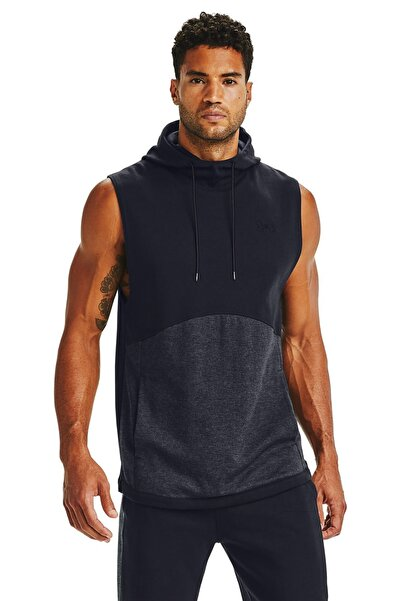 Under Armour Erkek Spor Sweatshirt - Double Knit Sl Hoodie - 1352009-002