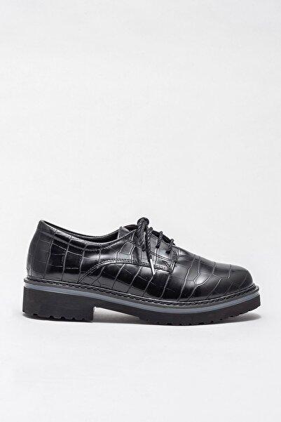 Elle Shoes LYSANNE Siyah Kadın Ayakkabı