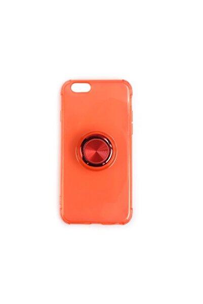 Mopal Iphone 6 6s Şeffaf Renkli Yüzüklü Cayman