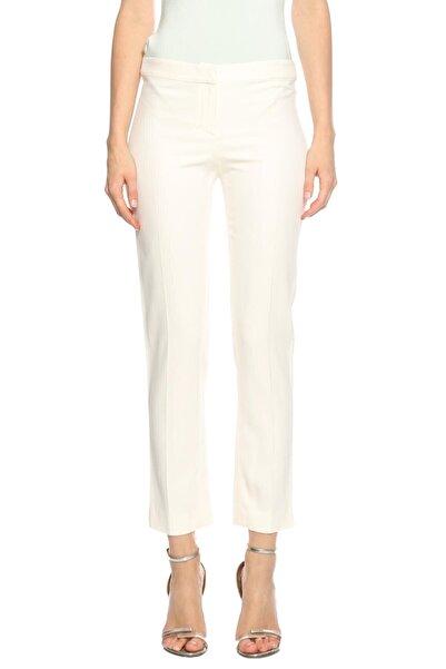 PHILOSOPHY FERRETTI Kadın Beyaz Philosophy Ferretti Klasik Pantolon