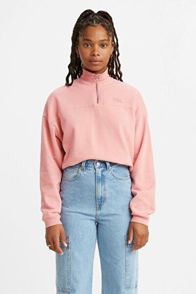 Levi's Kadın Pembe  Sweatshirt
