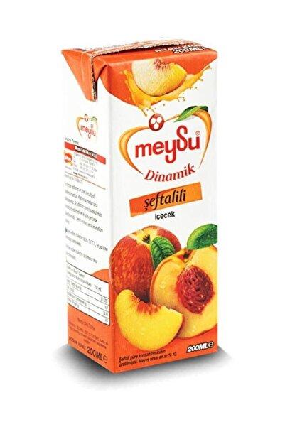 Meyöz Emin Gıda Meysu Dinamik Şeftali Meyveli Içecek 200 ml (27 Adet)