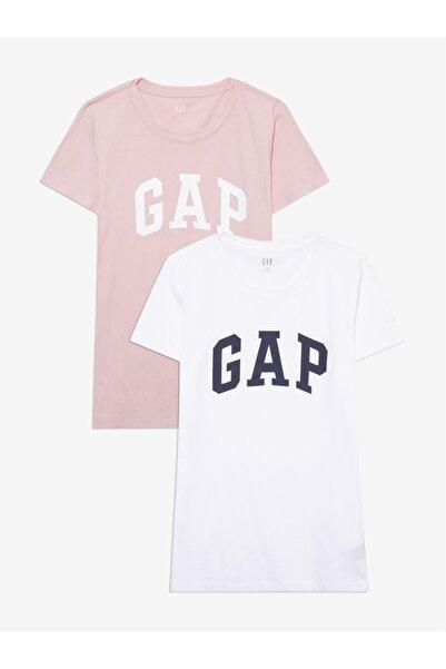 GAP 2'li Logo Kısa Kollu T-shirt