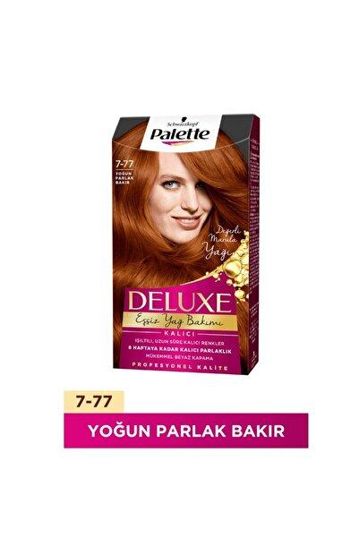 Palette Deluxe Saç Boya 7-77 Yoğun Parlak Bakır 3 Adet