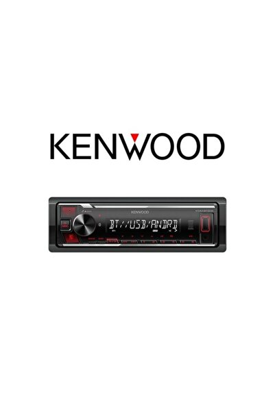 Kenwood Oto Müzik Çalar  Oto Teyp Bluetooth Usb Mp3 Okuyucu Kmm-bt205