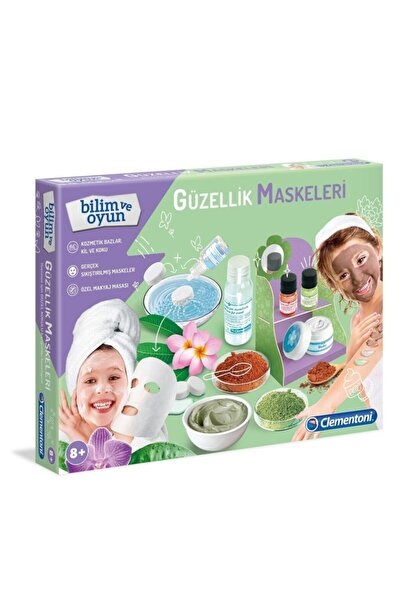 CLEMENTONI Ilkkeşiflerim Güzellik Maskeleri Mini Set 64961