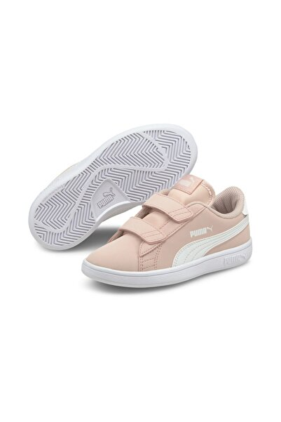 Puma Smash V2 Buck V Ps Çocuk Pembe Günlük Ayakkabı - 36518335