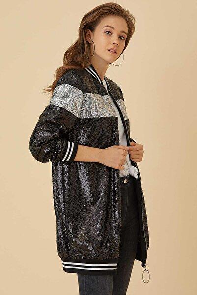 Kayra Kadın Siyah Ceket -ka-b9-13046