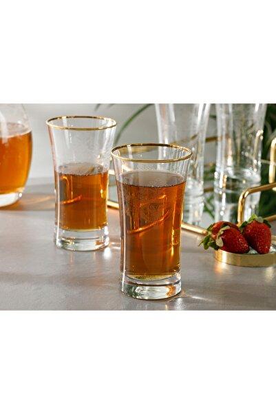 English Home Helena Cam 4'lü Meşrubat Bardağı 300 Ml Şeffaf