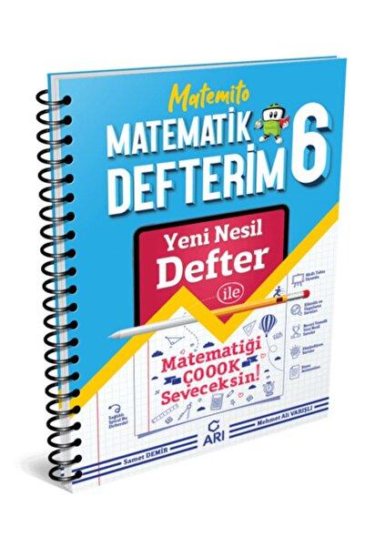 Arı Yayınları 6.sınıf Akıllı Matematik Defteri Matemito