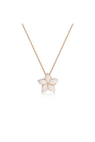 Silverella Gümüş Yasemin Çiçeği Kolye