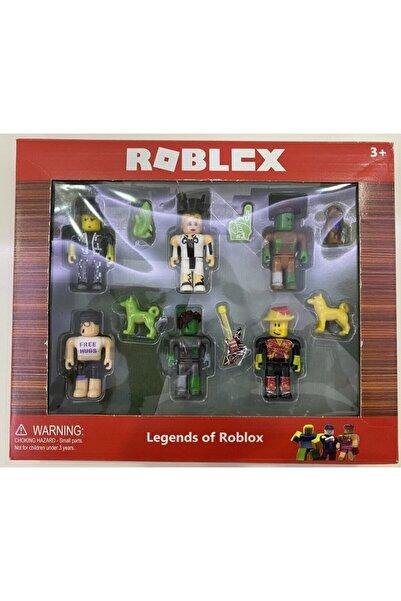 Roblox 6 Figürlü Oyuncak Eklemeli 12 Parça Oyun Seti