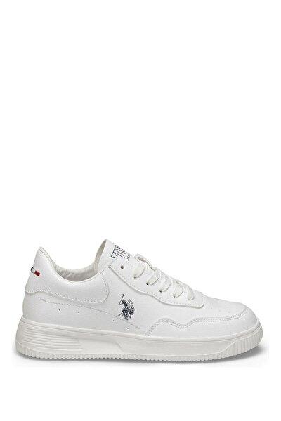 U.S. Polo Assn. Beyaz Kadın Sneaker