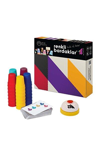 Zetzeka Zet Zeka Renkli Bardaklar Oyunu 3 Yaş Ve Üzeri 70 Kart - 7 Oyuncu